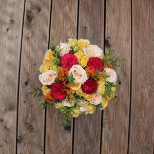 Įvairių gėlių dėžutė #1