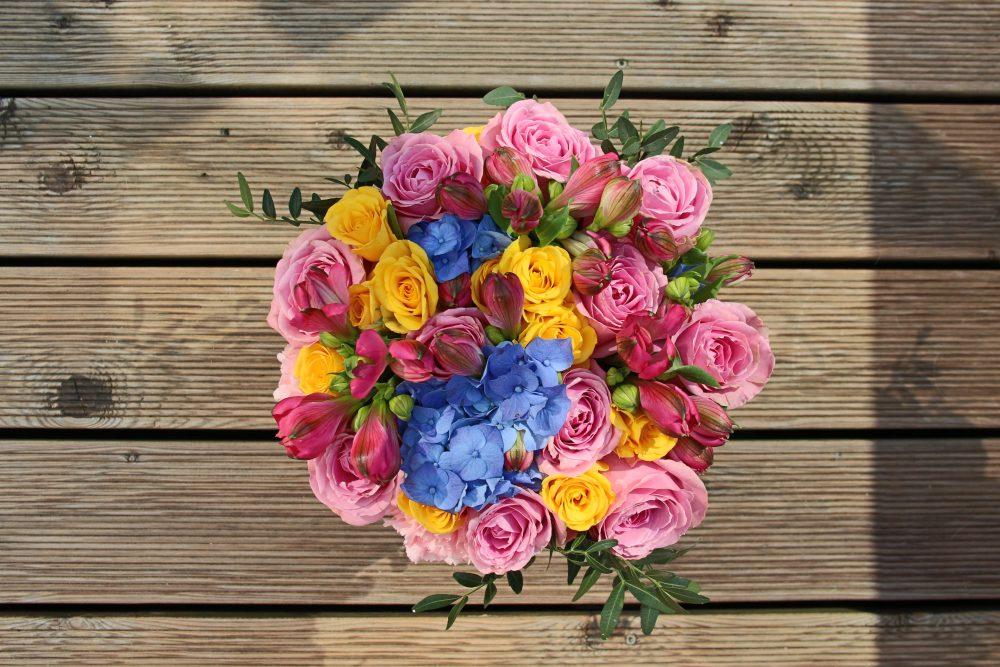 Įvairių gėlių dėžutė #3