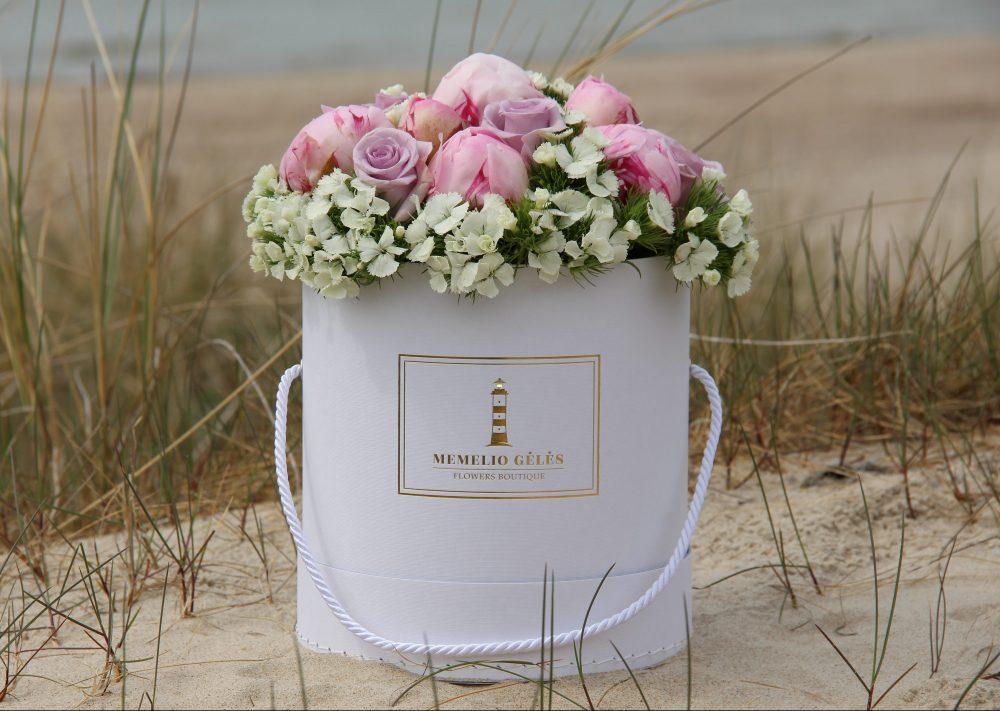 Įvairių gėlių dėžutė #2